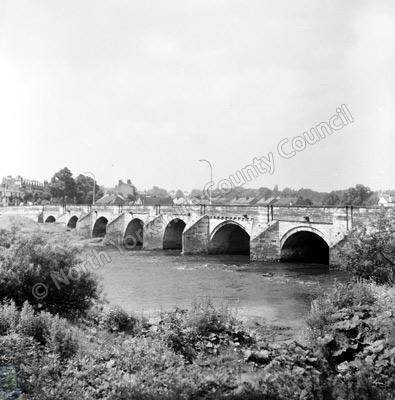 Ure Bridge, River Ure, Ripon